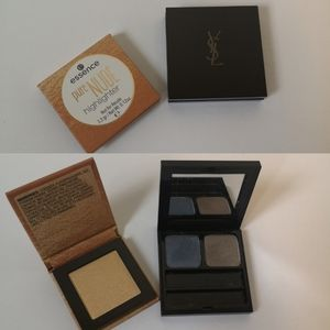 YSL eyeshadow duo with NWT highlighter